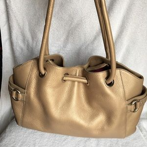 Leather Cole Haan purse